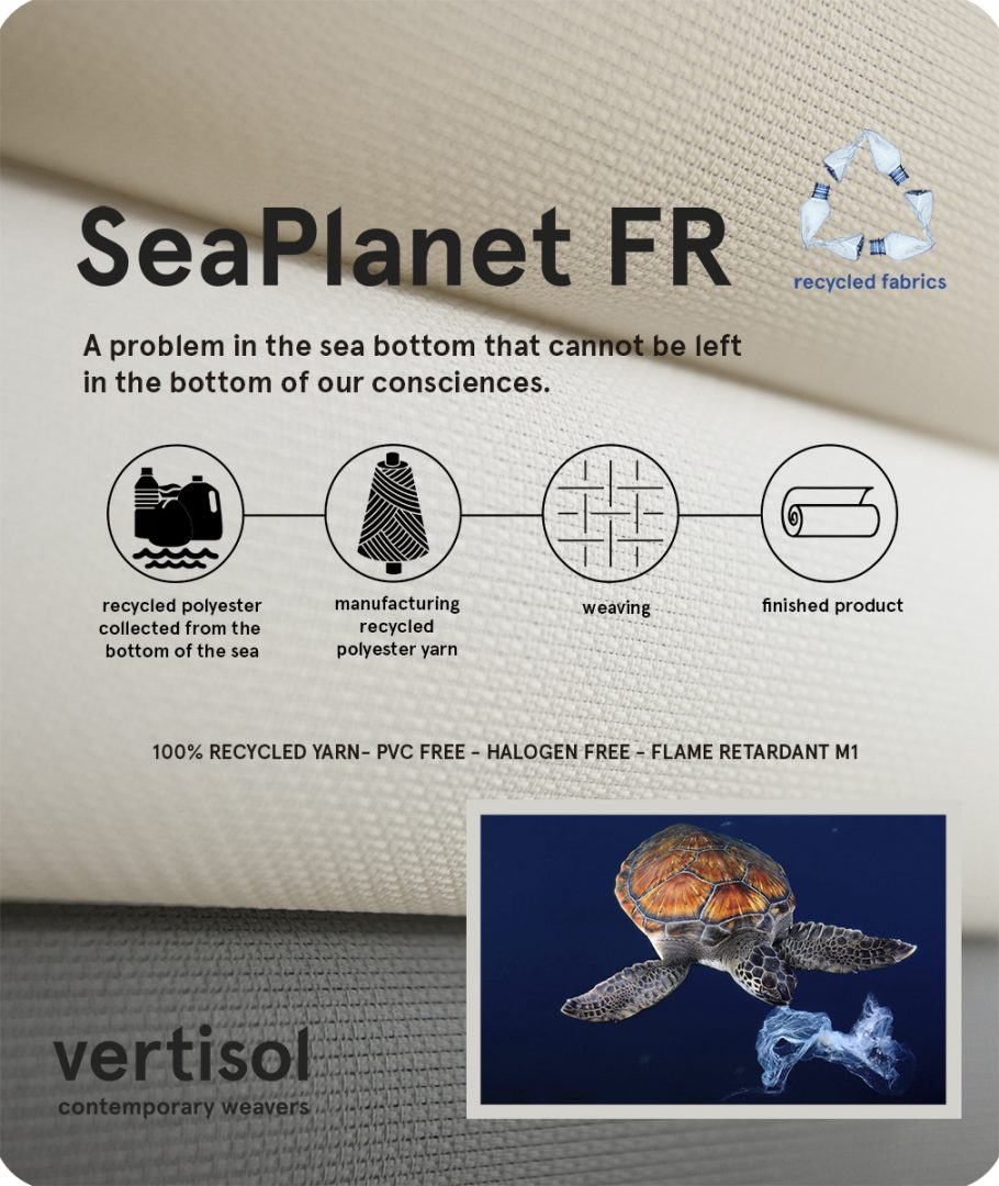 SeaPlanet FR: recycled fabrics