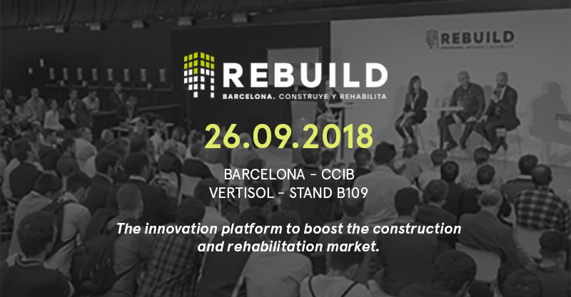 Join us at Rebuild exhibition!
