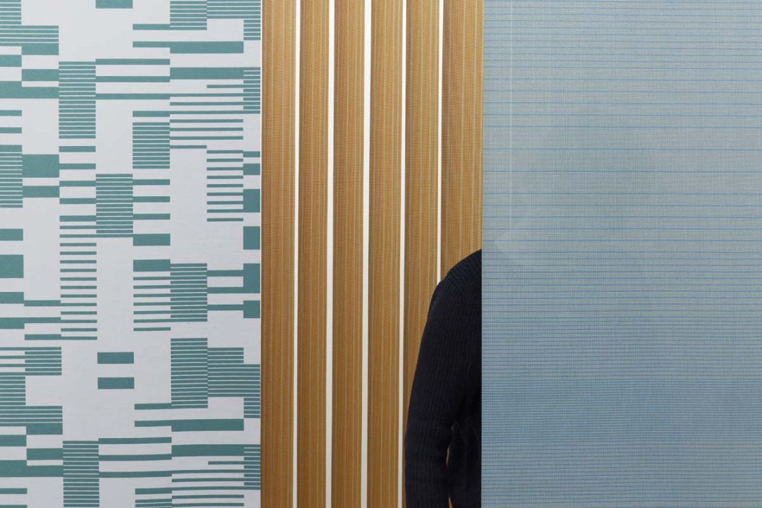 Raw Color has designed the Hatching and Density fabric as a collection for Vertisol