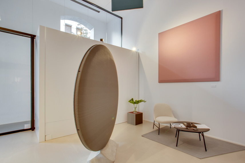 Vertisol presents the acoustic panels TACET by Monica Armani