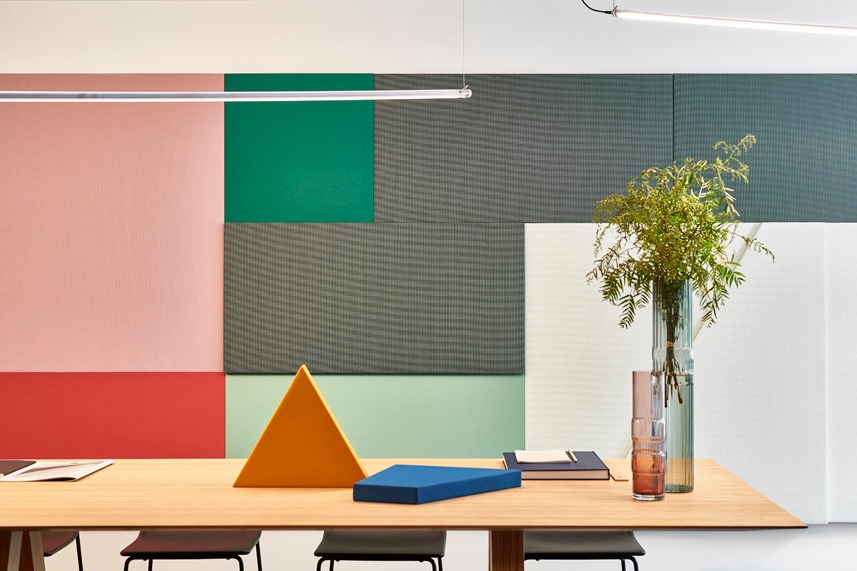 Lessen Acoustic Panels for a Healthy Architecture
